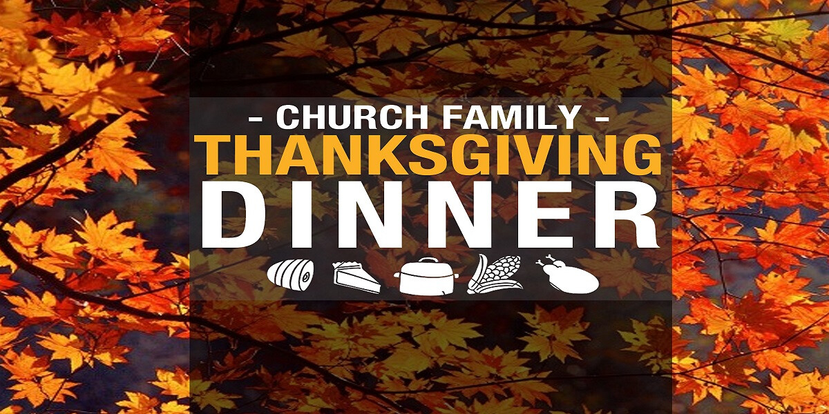 Church Family Thanksgiving Dinner