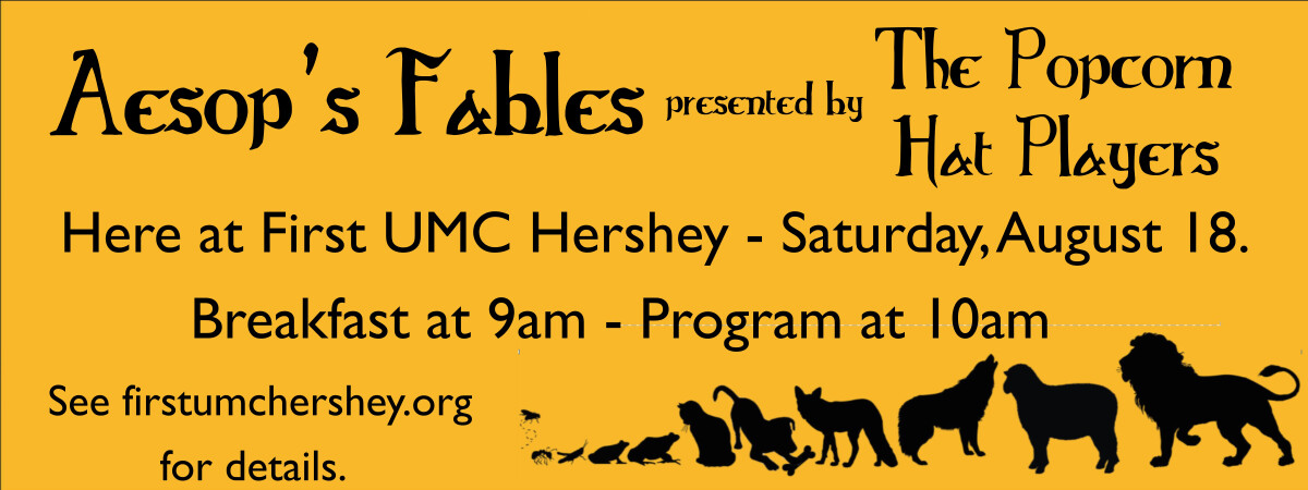 Aesop's Fables with the Popcorn Hat Players